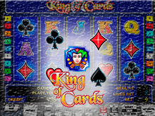 Аппарат King Of Cards в клубе Vulkan Stars